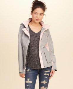 Moletom Hollister All-Weather Nylon Jacket