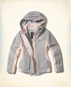 Moletom Hollister All-Weather Nylon Jacket