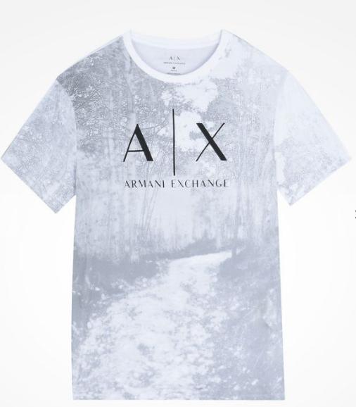 Camiseta Armani Exchange Into The Woods Logo Tee - EuEnvio ... b932e908e7be8