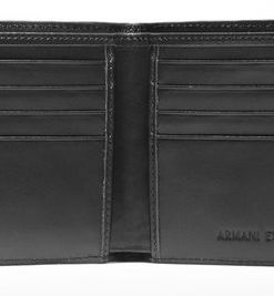 Carteira Armani Exchange Logo Wallet