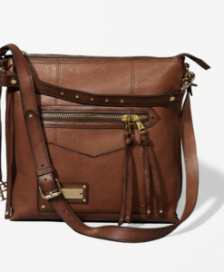 Bolsa Leather Heritage City Tote Marrom