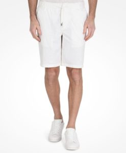 Bermuda AX Linen Cotton Drawstring Shorts