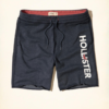 Bermuda Hollister Logo Graphic Jogger Shorts Azul