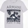 Camiseta Armani Exchange Logo Tee