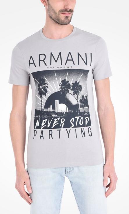490f16e011bd3 Camiseta Armani Exchange Logo Tee - EuEnvio Importados  Relógios ...