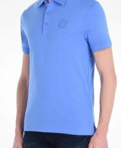 Polo AX Organic Cotton Short Sleeve Polo Azul Clara