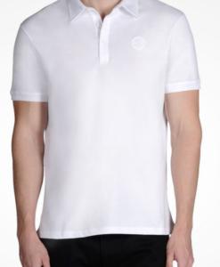Polo AX Organic Cotton Short Sleeve Polo Branca