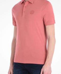 Polo AX Organic Cotton Short Sleeve Rosa