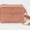 Bolsa A&F Stitched Crossbody Bag