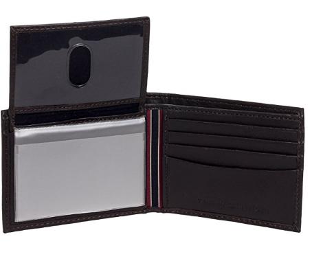 1815e5e22 Carteira Tommy Hilfiger Leather Passcase Wallet Black - EuEnvio ...