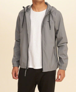 Agasalho Hollister Unlined Nylon Windbreaker