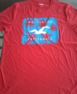 Camiseta Hollister Vermelha G