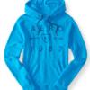 Aero 1987 Arrow Pullover Hoodie Azul