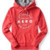 Agasalho Aero Authentic Circle Pullover Hoodie Vermelha