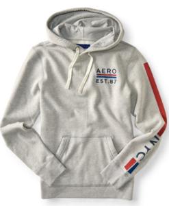 Agasalho Aero Est. 87 Pullover Hoodie Cinza