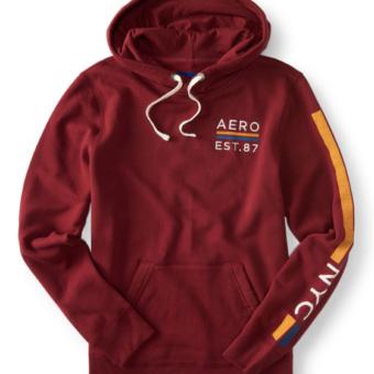Agasalho Aero Est. 87 Pullover Hoodie Vinho