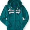 Agasalho Aeropostale Script Full-zip Hoodie Verde