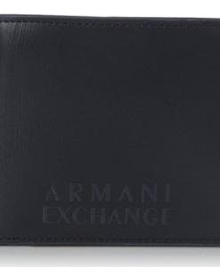 Carteira Armani Exchange Men's Contrast Color Bifold Wallet