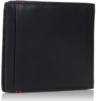 Armani Exchange Men's Leather Bifold Wallet With Logo Plate 2