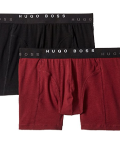 Cueca Hugo Boss Men's 2-Pack Cyclist Trunk