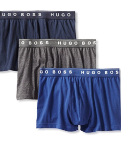 Cueca Hugo Boss BOSS Men's 3-Pack Cotton Trunk