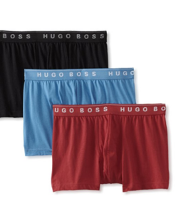 Cueca Hugo Boss Men's 3-Pack Cotton Trunk 3Cores