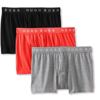Cueca Hugo Boss Men's 3-Pack Cotton Trunk 3Cores