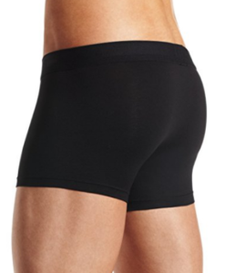 Cueca Hugo Boss Men's Balance Pima Cotton Modal Trunk Preta