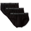 Cueca Hugo Boss Men's Traditional 3p Preta