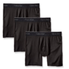 Cueca Calvin Klein Men's 3-Pack Microfiber Stretch Boxer Brief Preta