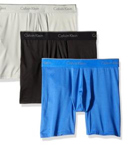 Cueca Calvin Klein Men's 3-Pack Microfiber Stretch Boxer Brief