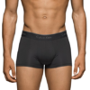 Cueca Calvin Klein Men's 3-Pack Microfiber Stretch Trunk Preta