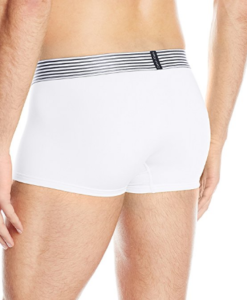 Cueca Calvin Klein Men's Iron Strength Micro Low Rise Trunk Branca