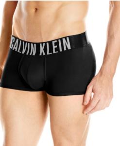 Cueca Calvin Klein Men's Underwear Intense Power Micro Low Rise Trunks Preta