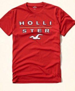 Camiseta Hollister Vermelha M e G