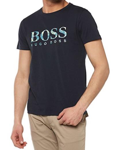 Camisetas Hugo BOSS Orange Men s Regular Fit Tacket - EuEnvio ... 8dd7aa95d22