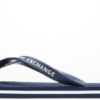 Chinelo Armani Exchange Solid azul escuro
