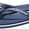Chinelo Armani Exchange Solid azul escuro 2