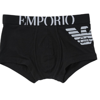 Emporio Armani Men's Cotton Stretch Trunk