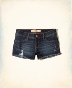 Short Hollister Low-Rise Denim Shorts