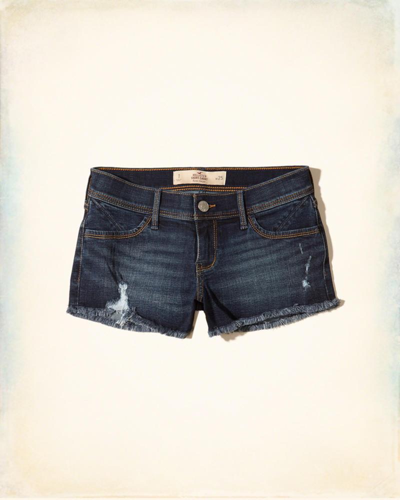 3fa7010d2b Short Hollister Low-Rise Denim Shorts - EuEnvio Importados  Relógios ...