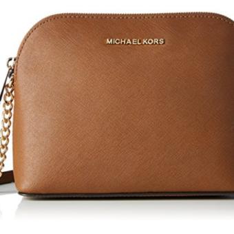 Bolsa Michael Kors Women's Cindy Dome Cross Body Bag Caramelo