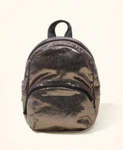 Bolsa Hollister Metallic Mini Backpack