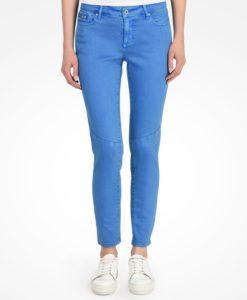 Calça AX Moto Super Skinny Jeans Azul