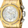 Relógio Invicta 12743 Reserve Bolt Zeus Gold Swiss