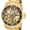 Relógio Invicta 15343 Pro Diver 18k Gold