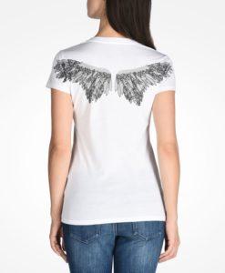 Camiseta Armani Exchange S Wing Graphic Tee