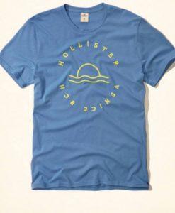 Camiseta Hollister Azul