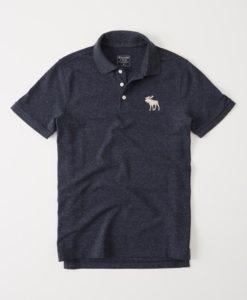 Camisa Polo A&F Big Icon Navy