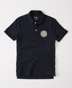 Camisa Polo Abercrombie & Fitch Heritage Polo Navy
